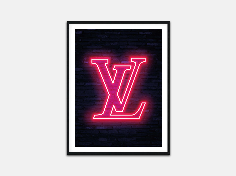 Louis Vuitton Pink Neon