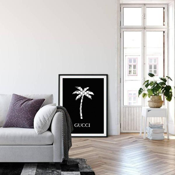 Gucci Palm Tree Luxe Fotolijst